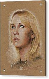 Agnetha Acrylic Print