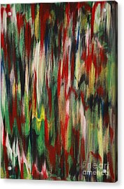 Acrylic Print featuring the painting Agony by Jacqueline Athmann