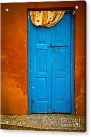 Agra Door Acrylic Print