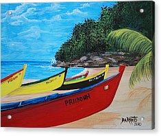 Aguadilla Crashboat Beach Acrylic Print