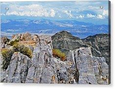 Aguereberry Point Rocks Acrylic Print