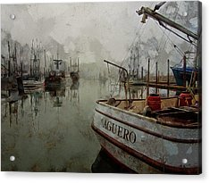 Aguero Acrylic Print