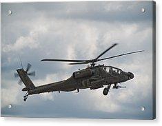 Ah-64 Apache Acrylic Print by Sebastian Musial