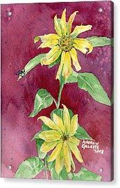 Ah Sunflowers Acrylic Print