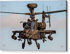 Ah64 Apache Flying Acrylic Print