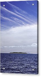 Ahoy Bounty Island Resort Acrylic Print