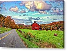 Ah...west Virginia Acrylic Print by Steve Harrington