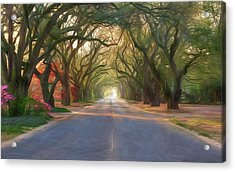 Aiken South Boundary Avenue Acrylic Print