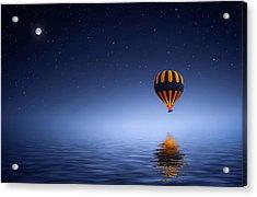 Acrylic Print featuring the photograph Air Ballon by Bess Hamiti