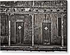 Air Conditioned Acrylic Print by Lou  Novick