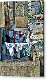 Acrylic Print featuring the photograph Air Dry by Kim Wilson