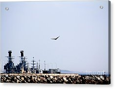 Air Force At The Navy Acrylic Print by Toon De Zwart