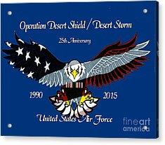 Air Force Desert Storm Acrylic Print