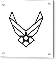 Air Force Logo Acrylic Print