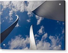 Air Force Memorial Acrylic Print by Louise Heusinkveld