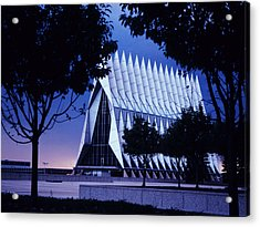 Air Force The Cadet Chapel Acrylic Print
