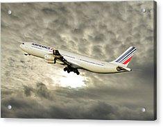 Air France Airbus A340-313 115 Acrylic Print