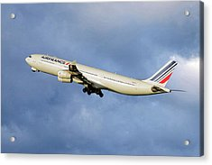 Air France Airbus A340-313 117 Acrylic Print