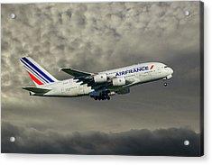 Air France Airbus A380-861 116 Acrylic Print