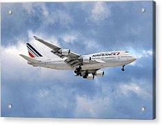 Air France Boeing 747-428 118 Acrylic Print