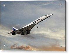 Air France Concorde 122 Acrylic Print