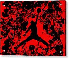Air Jordan 1b Acrylic Print