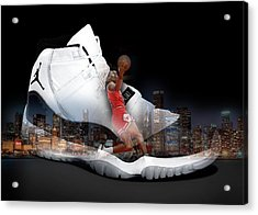 Air Jordan Chicago Acrylic Print