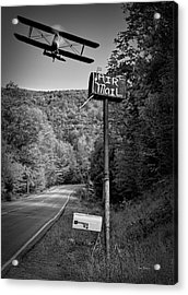 Air Mail Delivery Maine Style Acrylic Print