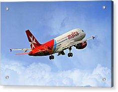 Air Malta Airbus A319-112 Acrylic Print