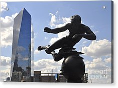 Air Sculpture Acrylic Print by Andrew Dinh