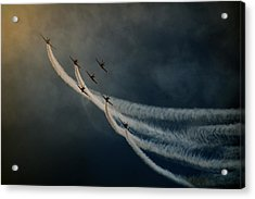 Air Show. Acrylic Print by Antonio Grambone