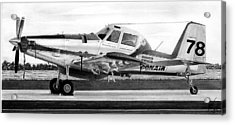 Air Tractor Acrylic Print by Lyle Brown