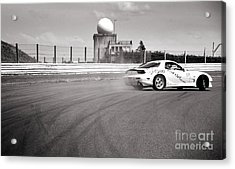 Airfield Drifting Acrylic Print by Andy Smy