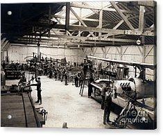 Airplane Manufacturing  Acrylic Print