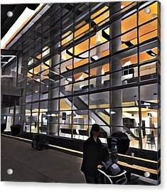 Airport 1.30am Acrylic Print