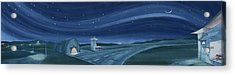 Acrylic Print featuring the painting Airport Cafe Vi by Scott Kirby