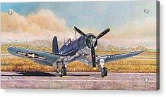 Airshow Corsair Acrylic Print