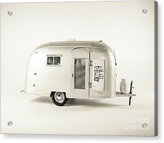 Acrylic Print featuring the photograph Airstream Bambi Camper by Edward Fielding