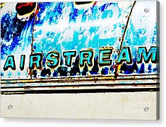 Airstream Acrylic Print by Newel Hunter