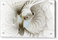 Airy Space2 Acrylic Print by Karin Kuhlmann