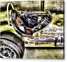 Aj Foyt 1961 Cockpit Acrylic Print