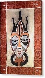 Aje Mask Acrylic Print
