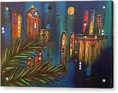 Good Evening Baghdad Acrylic Print