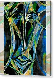 Akhnaton Acrylic Print by Noredin Morgan