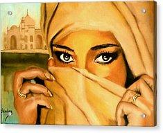 Al-andalus-3 Acrylic Print by Manuel Sanchez