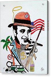 Al Capone Acrylic Print