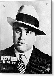 Al Capone Mugsot Acrylic Print