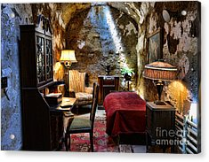 Al Capone's Cell - Scarface - Eastern State Penitentiary Acrylic Print by Paul Ward