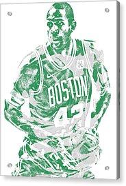 Al Horford Boston Celtics Pixel Art 6 Acrylic Print