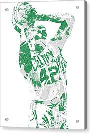 Al Horford Boston Celtics Pixel Art 8 Acrylic Print